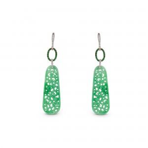 Pendientes jade