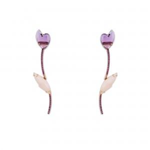 Pendientes Tulipán